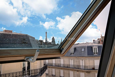 VENTE APPARTEMENT  PARIS TRIANGLE D'OR DERNIER ETAGE