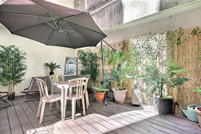 VENTE APPARTEMENT PARIS 75018 AVEC TERRASSE